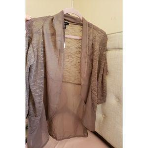 Brown cardigan size M